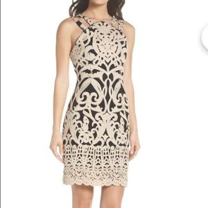 Foxiedox embroidered romantic damask dress